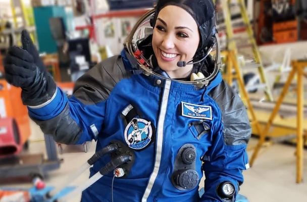 Kellie Gerardi - Microgravity Research Flight